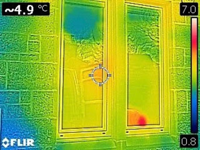 Thermal Imaging After Triple Pane Window Installation Improved Energy Efficiency and Building Envelope