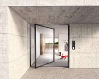 Glass Door - Pivot from Sky-Frame