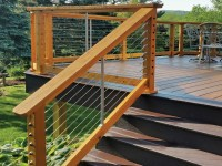 CableRail Stair Kits for Wood Railings from Feeney