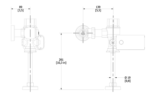 Fluxómetros para mingitorios e inodoros de Helvex