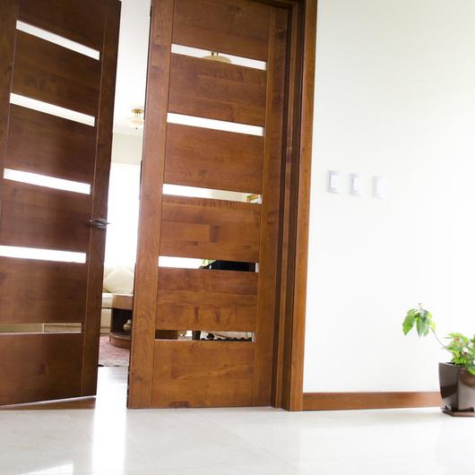 Puertas de madera slida  Modernas de Ignisterra