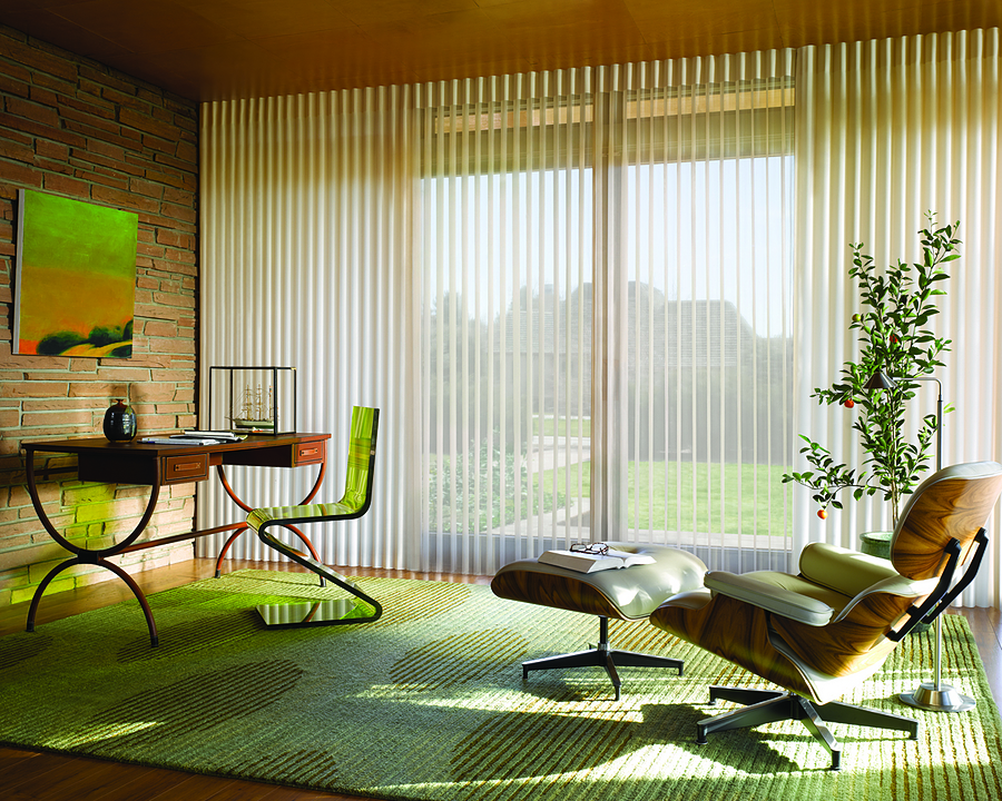 Cortinas Luminette de Hunter Douglas Window Covering