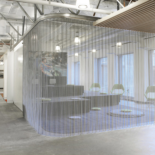 Fabricoil Interior Partition Systems From Cascade Architectural