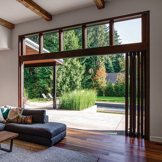 Accoya Wood In A Split Level West Vancouver Home From Accoya