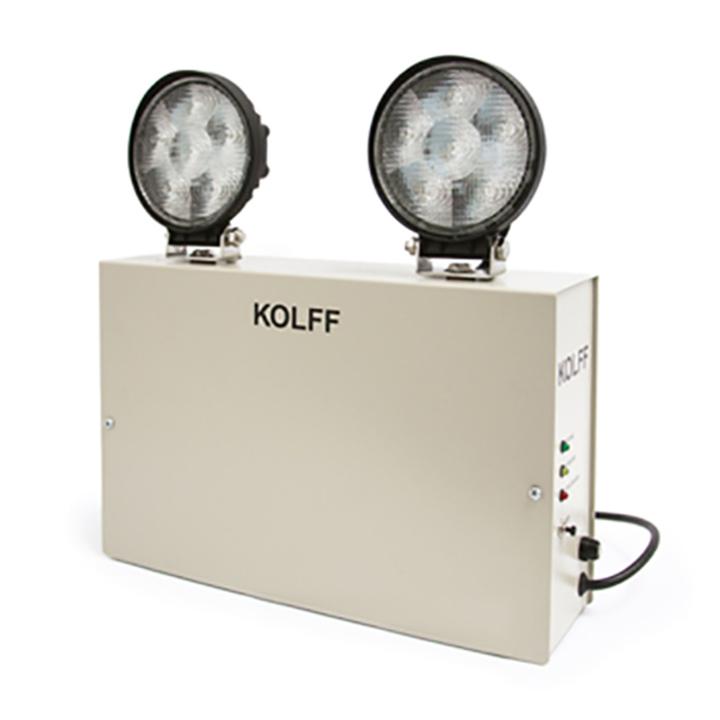 Iluminacin de Emergencia ET2001 LED de KOLFF