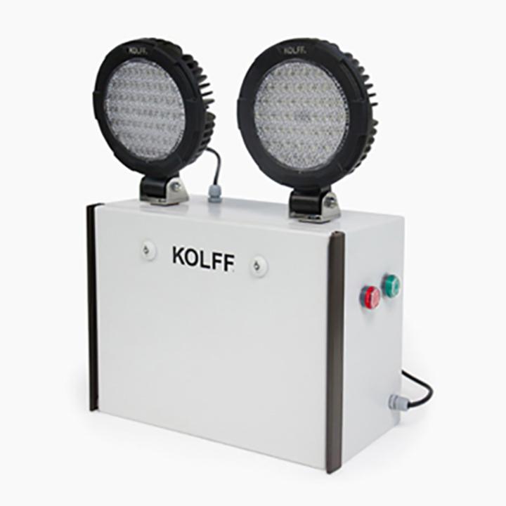 Iluminacin de Emergencia KC2559 LED de KOLFF