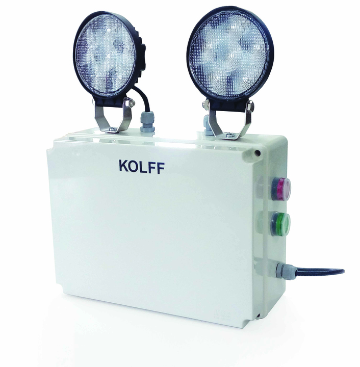 Iluminacin de Emergencia ET2000 S LED de KOLFF