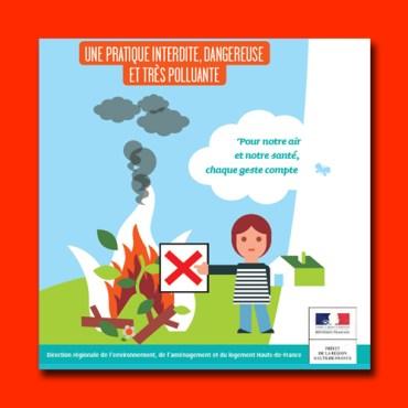 Interdiction de brûlage des végétaux
