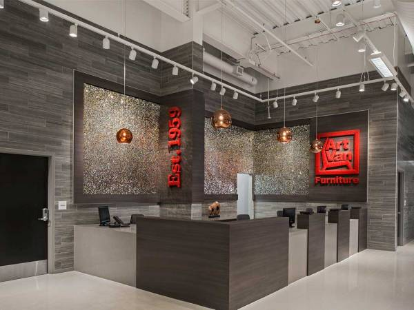 Art Van Furniture - Canton Flagship Store Neumann Smith