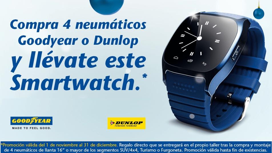 ofertas neumaticos zaragoza smartwatch