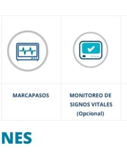 LEEX S8 Desfibrilador monitor especificaciones