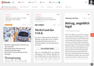 """Blendle ist """"kein zentraler Bestandteil der digitalenErlösstruktur"""" der Presseverlage"""