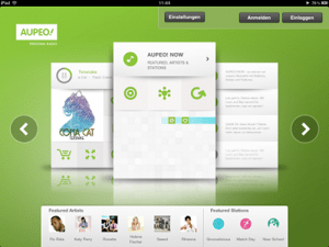 AUPEO! stellt iPad-App mit Buffering-Options vor und verlost drei Streaming-Abos für ein Jahr