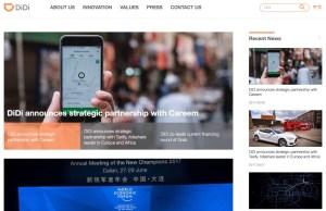 Wie Didi Chuxing ein globales Ridesharing-Netzwerk aufbaut