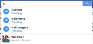Facebook baut heimlich, still und leise die Suche aus