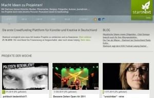 Crowdfunding-Plattformen in Deutschland: Startnext und mySherpas
