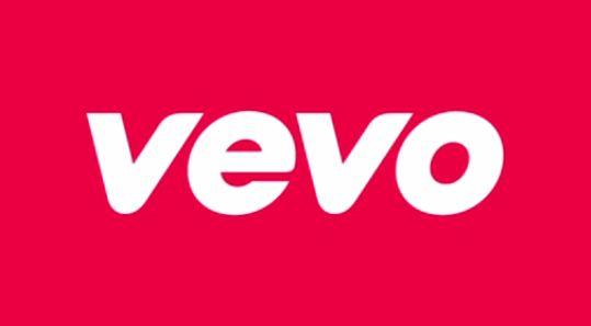 Logo von Vevo