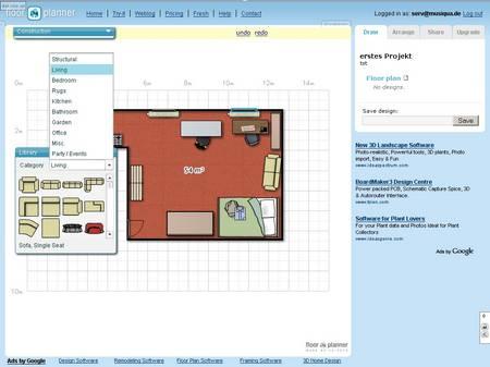 Mit Floorplanner Die Inneneinrichtung Planen
