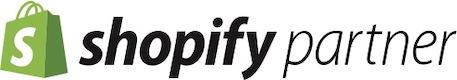 Shopify partner footer logo