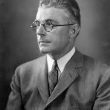 Image of John B. Watson, behaviorist who was more of the school of thought that drives ABA than BF Skinner