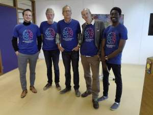 neurodiversiteit stichting - main developers 2018 with Erik Kees Wybe Tjerk and Omotola