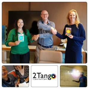 Winning the Citylab pitch for funding for 2Tango.Work