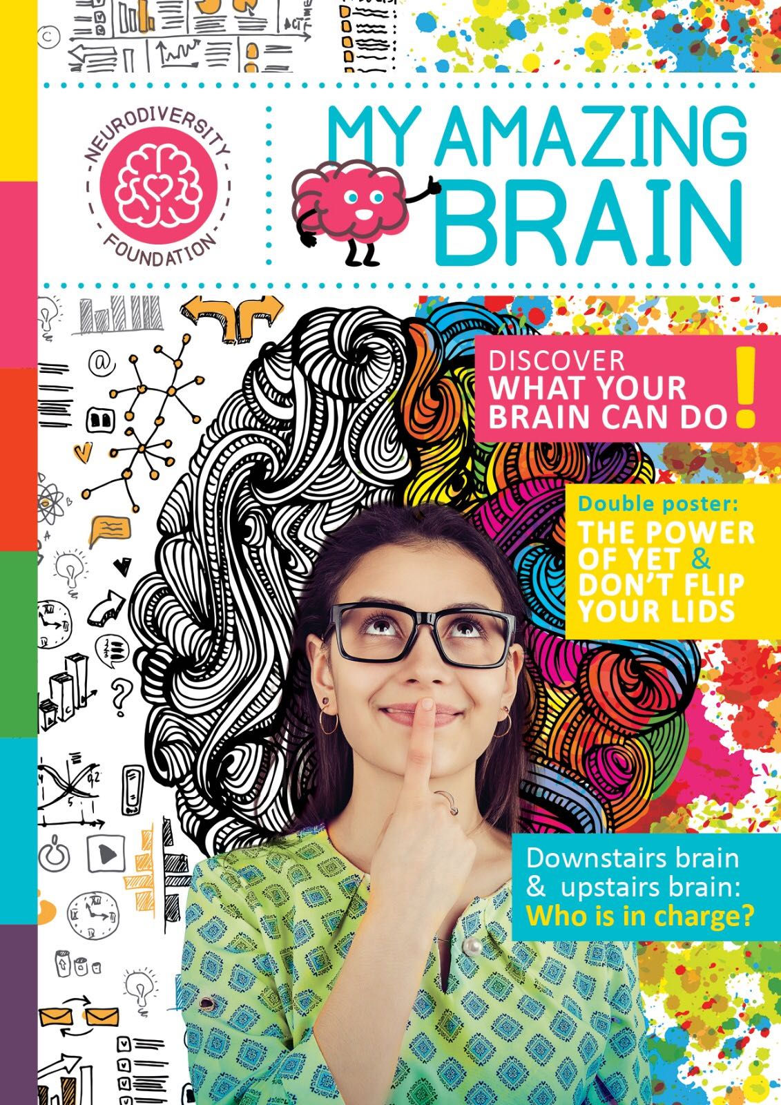 My Amazing Brain Magazine, made by Lana, Eleonora and Saskia