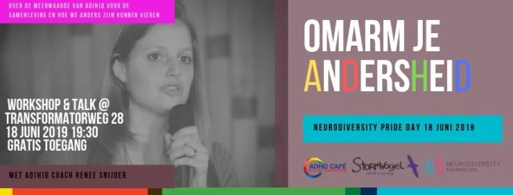 Neurodiversity Pride Day 2019 Renee Snijdera