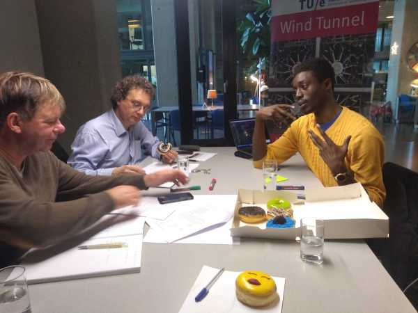Roundtable with Nico Baken and coach Edgar