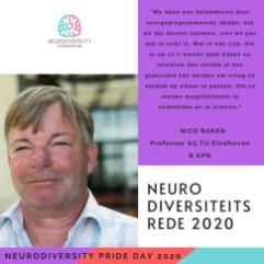 Neurodiversity Pride Day 2020 - Nico Baken