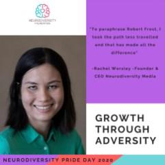 Neurodiversity Pride Day 2020 - Rachel Worsley