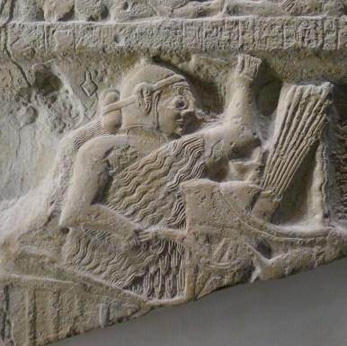 casco sumerio