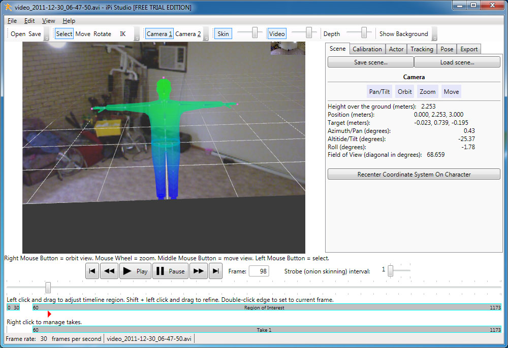 Neurogami: Kinect for artists