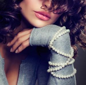Fashion Beauty Portrait. Sexy Girl.