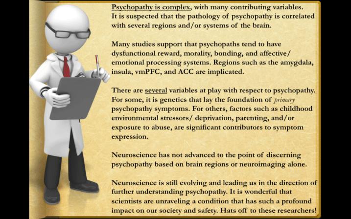 NeuroScience Disclaimer