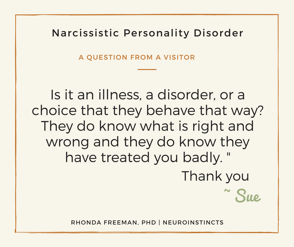 Is Narcissistic Personality Disorder an Illness? | Neuroinstincts