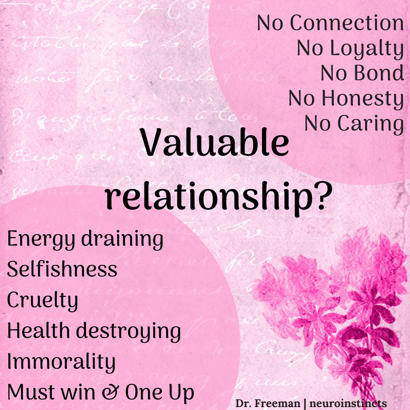 Narcissistic relationship | Freeman