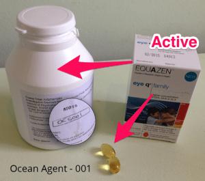 Omega Oils box