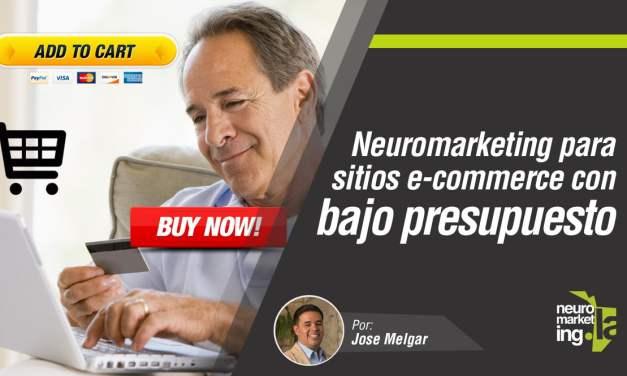 Neuromarketing para sitios web con presupuesto limitado