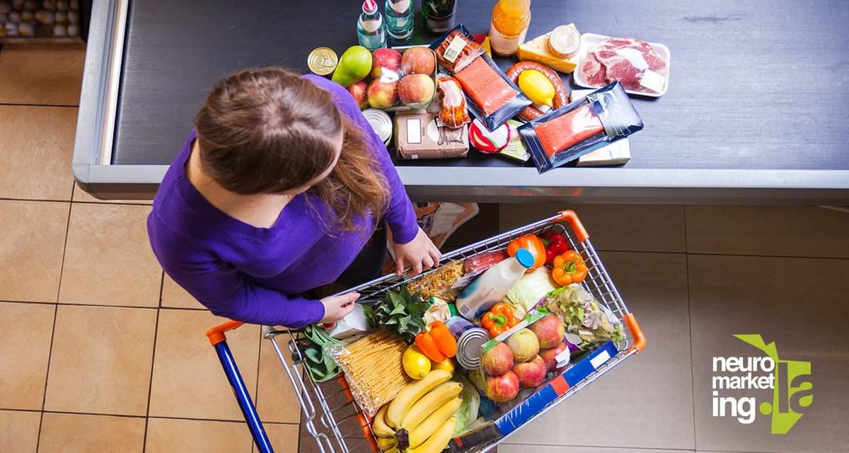 4 técnicas de Neuromarketing en los supermercados