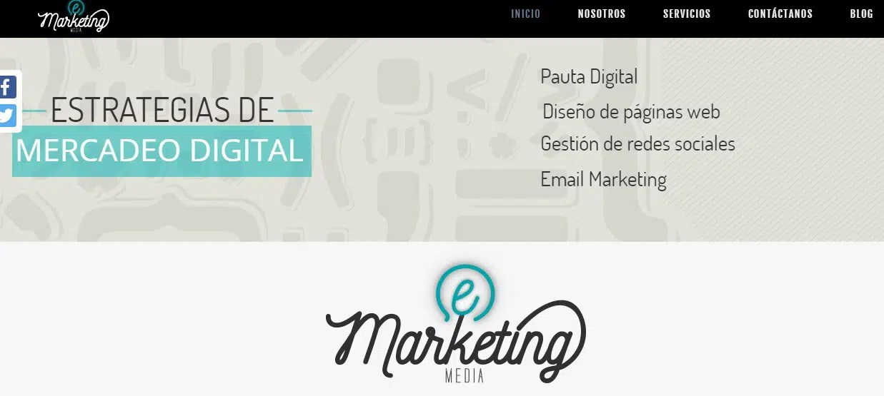 Agencia de mercadeo digital Marketing Media