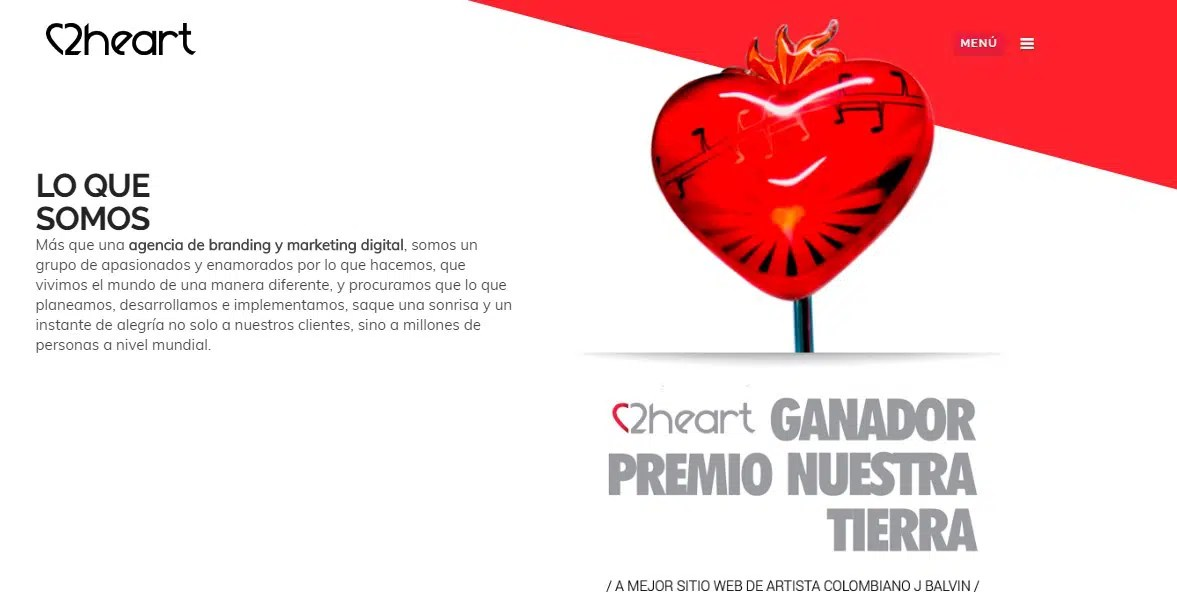 Agencia de marketing online 2Heart