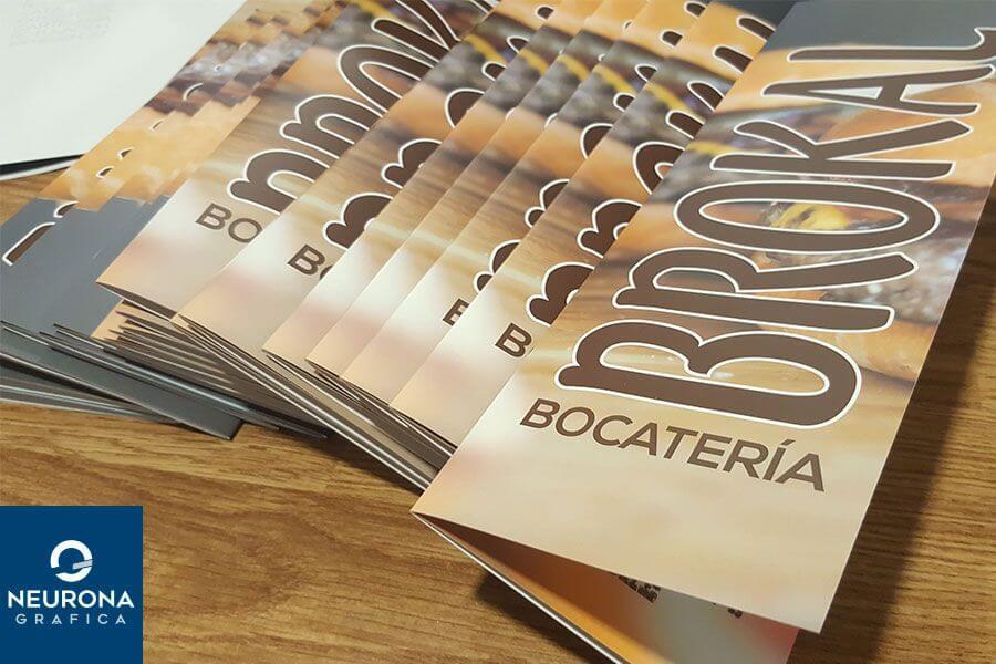 diseño de cartas para restaurantes en elche
