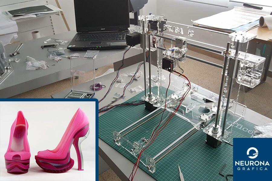 impresión 3d de calzado en elche