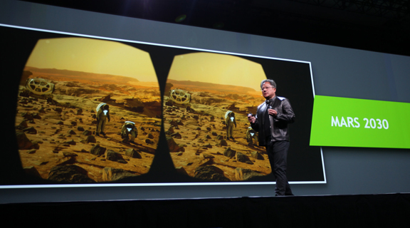 NVIDIA GTC 2016: The GPU Wants to Accelerate VR, AI, and Big Data Analysis