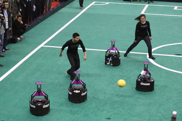 Scientists engineer robots to outsmart mankind as artificial intelligence beats humans 3-2 at football