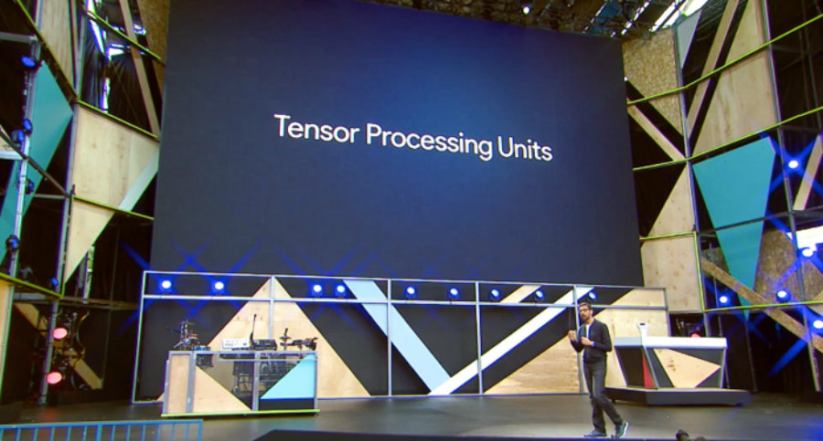 Google's new Tensor Processing Unit custom chip