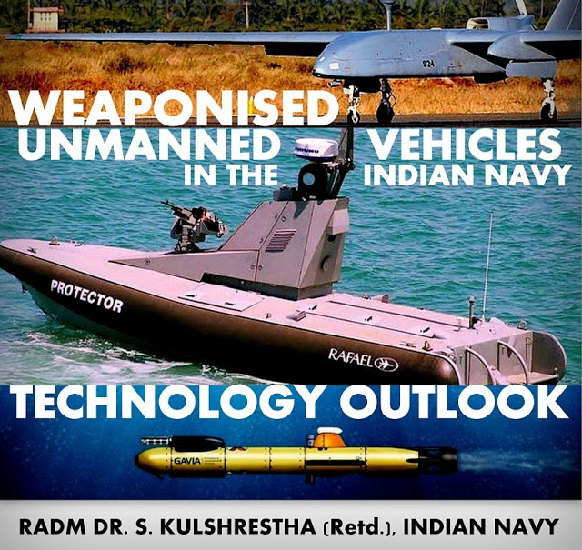 OPINION | Weaponised Unmanned Vehicles in the Indian Navy: Technology Outlook