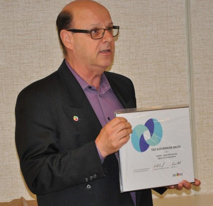 Algoma District School Board Wins National Innovation Award