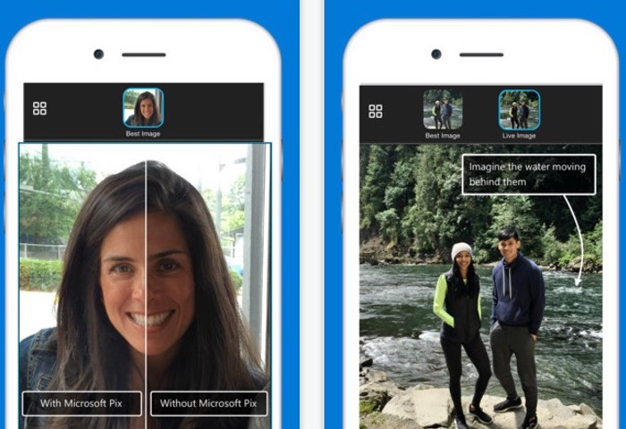 New Microsoft Pix iOS Camera App Equipped With Artificial Intelligence (video)